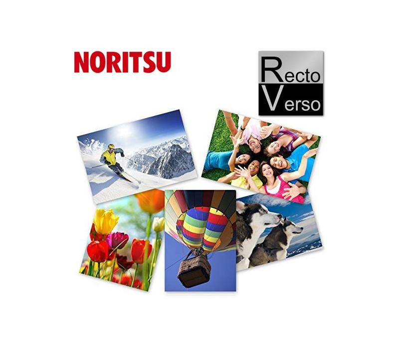 FEUILLES RECTO-VERSO 102x213mm Epais 271gr/m² semi brillant (x 200pcs)