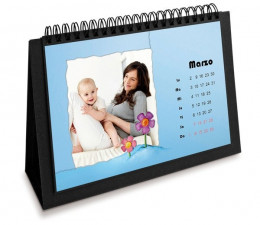 EASY CALENDAR 12 PAGES 15x20 ( x 24 )