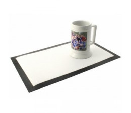 SETS DE TABLE NOIR 390x250x1.5mm (x10)