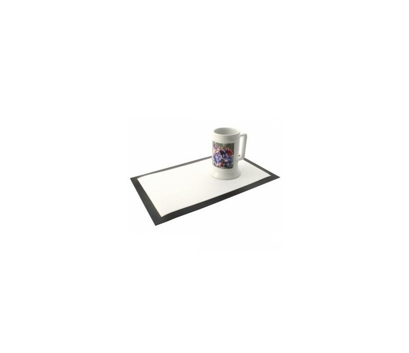 SETS DE TABLE NOIR 390x250x1.5mm (x10)
