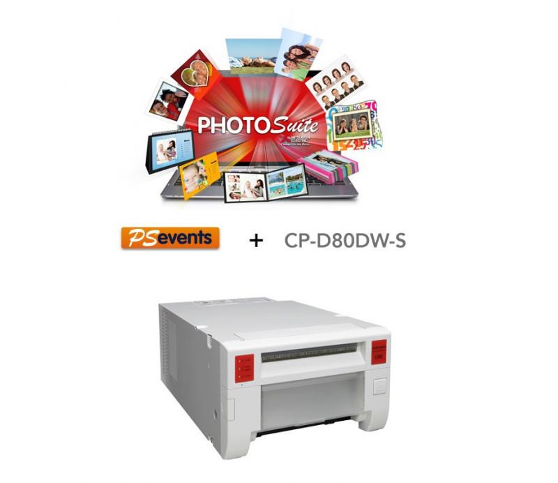 CP-D80DW-S + Logiciel PHOTOSUITE EVENTS