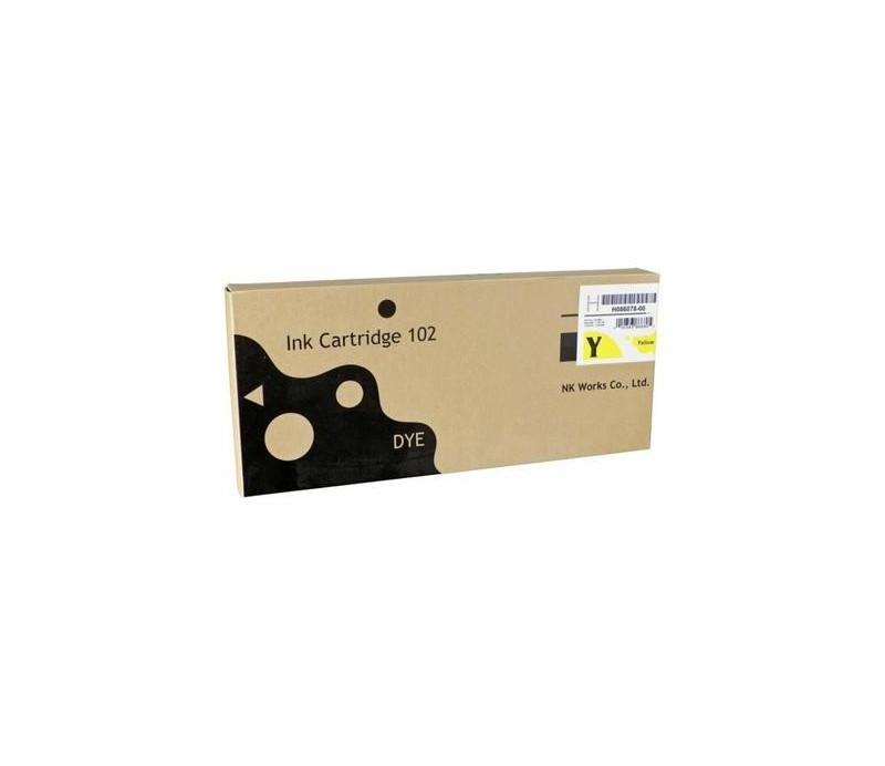 CARTOUCHE ENCRE JAUNE 500ml (701 / 703 / 705 / QSSGreen / D1005)