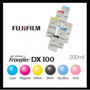 CARTOUCHE ENCRE NOIRE 200ml  FRONTIER S / DX100
