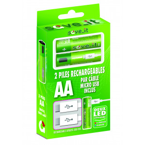 PILE RECHARGEABLE PAR CABLE...