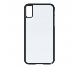 COQUE BLANCHE BORDS NOIRS...