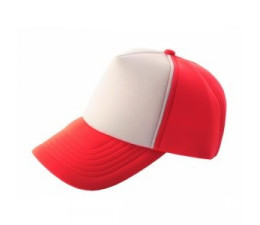 CASQUETTE ROUGE/BLANCHE (x12)