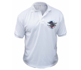 POLO BLANC TAILLE L (x5)