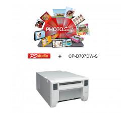 CP-D707DW-S + Logiciel PHOTOSUITE Studio