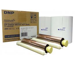 DS620  10 x 15 ( 2 x 400 Tir ) / 15 X 20 ( 2 x 200 Tir) DNP