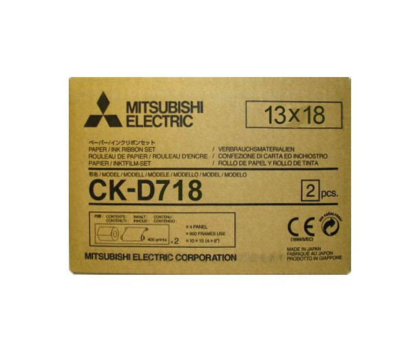 CK-D718 (13 x 18) Consommables Mitsubishi