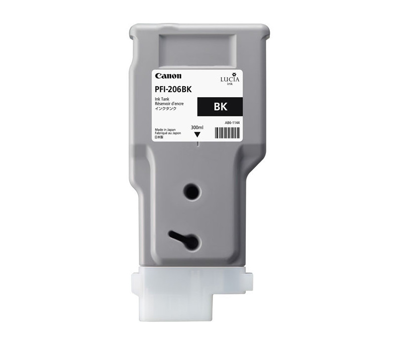 Encre PFI-206BK Noir 300ml