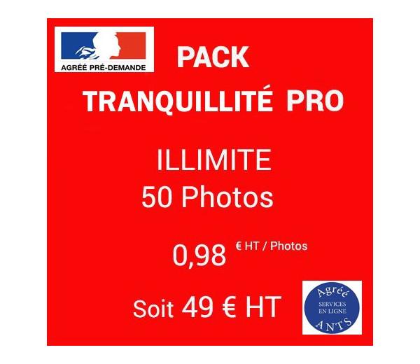 PACK Tranquillité Illimité - 50 Photos - 0,98|euros| HT / photo
